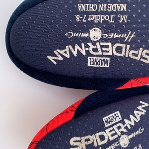 Marvel Shoes - Spider-Man & Teddy Bear House Shoes